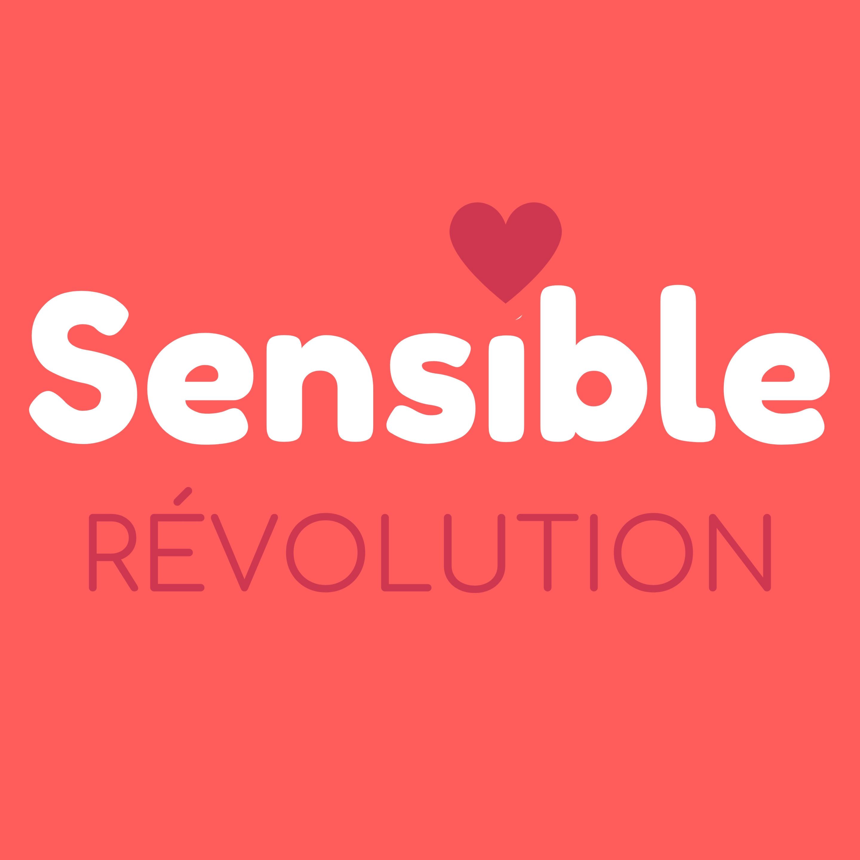 Logo du Podcast Sensible Révolution créé par Axelle Lazeve