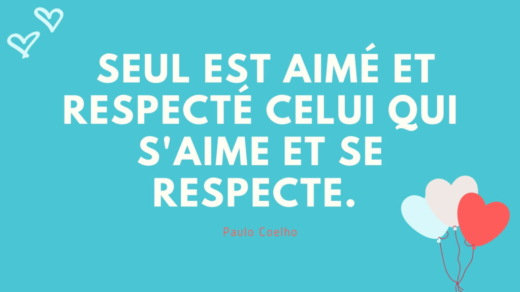 Citation sur le respect de soi
